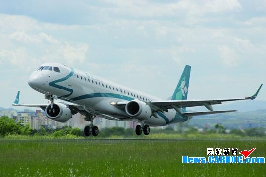 民航资源网2009年2月2日消息:据圣若泽杜斯坎普斯2009年1月27日消息,巴西航空工业公司将于27在巴西圣若泽杜斯坎普斯公司总部举行仪式,向德国汉莎航空公司(Deutsche Lufthansa AG)所属的意大利北部地区支线运营商多洛米蒂航空公司(Air Dolomiti)交付其定购的首架E-195喷气飞机。公司与德国汉莎航空公司签署的该项协议于2007年6月对外公布,协议包括30架E-190喷气飞机的确认定单;并为用户保留将定单内飞机替换为E-喷气飞机系列任一款机型之选择权。   多洛米蒂航空