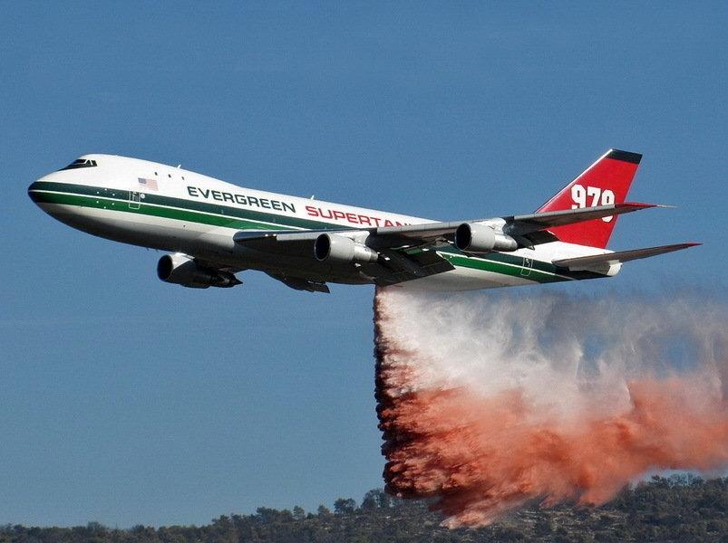 世界最大的灭火飞机:一次能洒80吨水