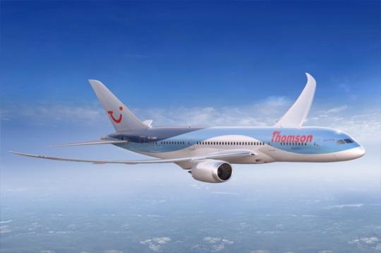 将接收英国首架波音787梦想客机