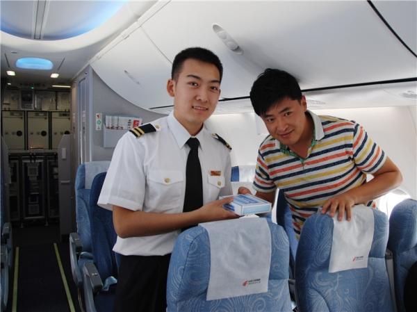 国航内蒙古百灵乘务组让安全理念走进客舱