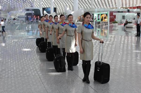 东海航空自客运运行以来,首次参与深圳辖区