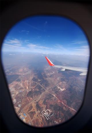 飞机窗外的绝美风景