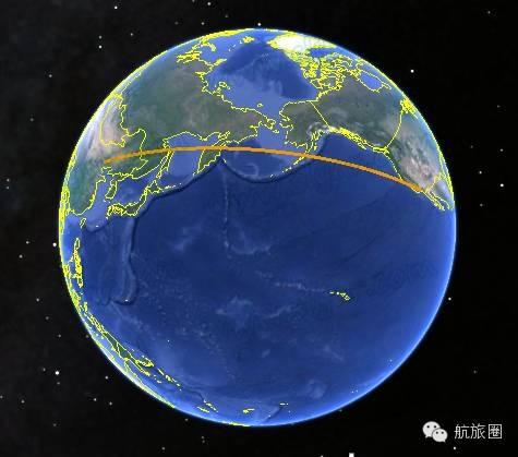 中美航线飞机究竟是怎么飞的?