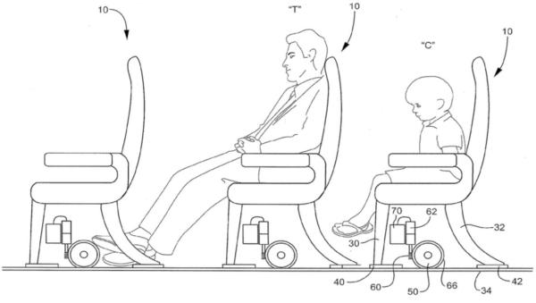 高个旅客的福音:飞机座椅间距可以轻松调整